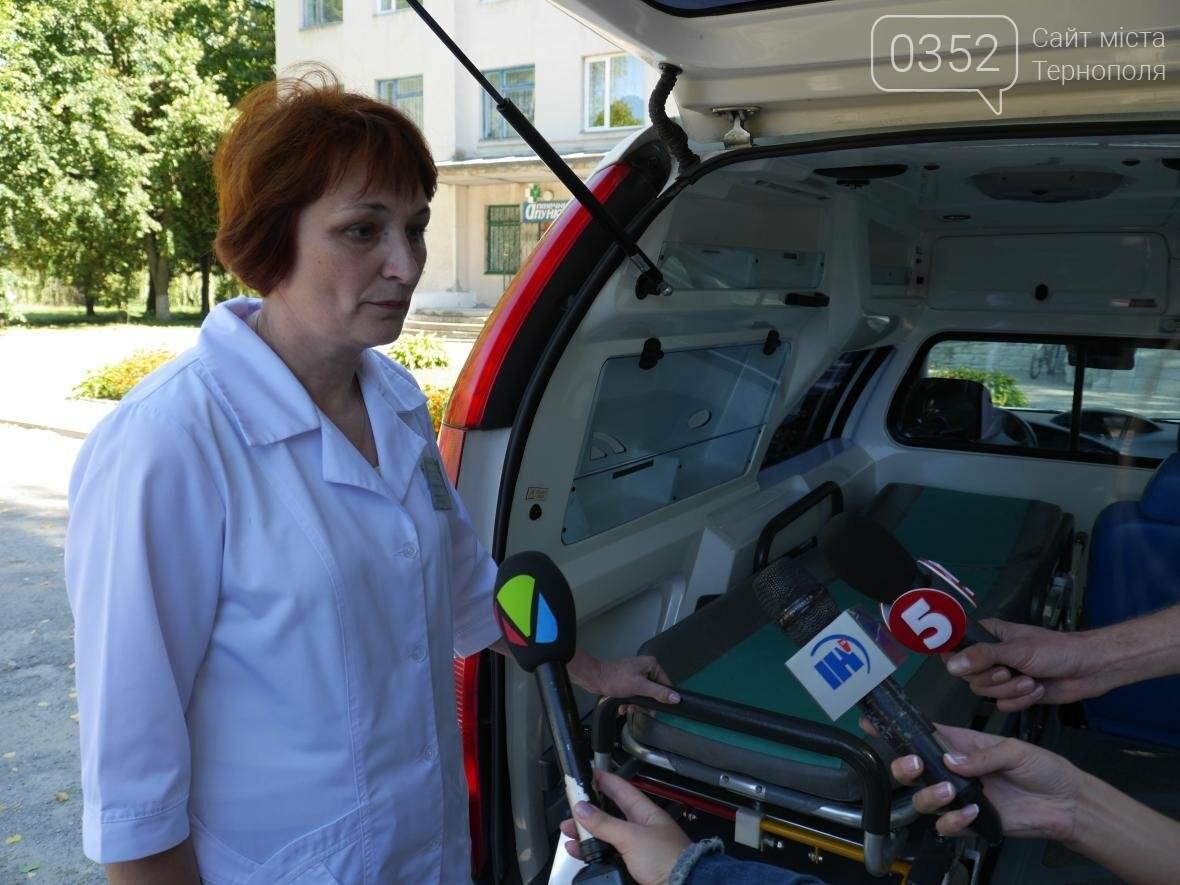 """""""МРІЯ"""" придбала автомобіль швидкої допомоги для Шумської центральної районної лікарні, фото-11"""
