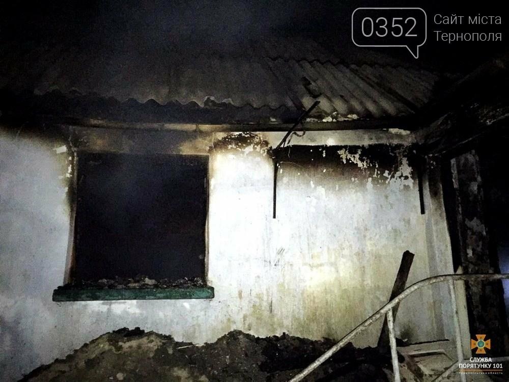 На Тернопільщині у житловому будинку згорів чоловік (ФОТО), фото-1