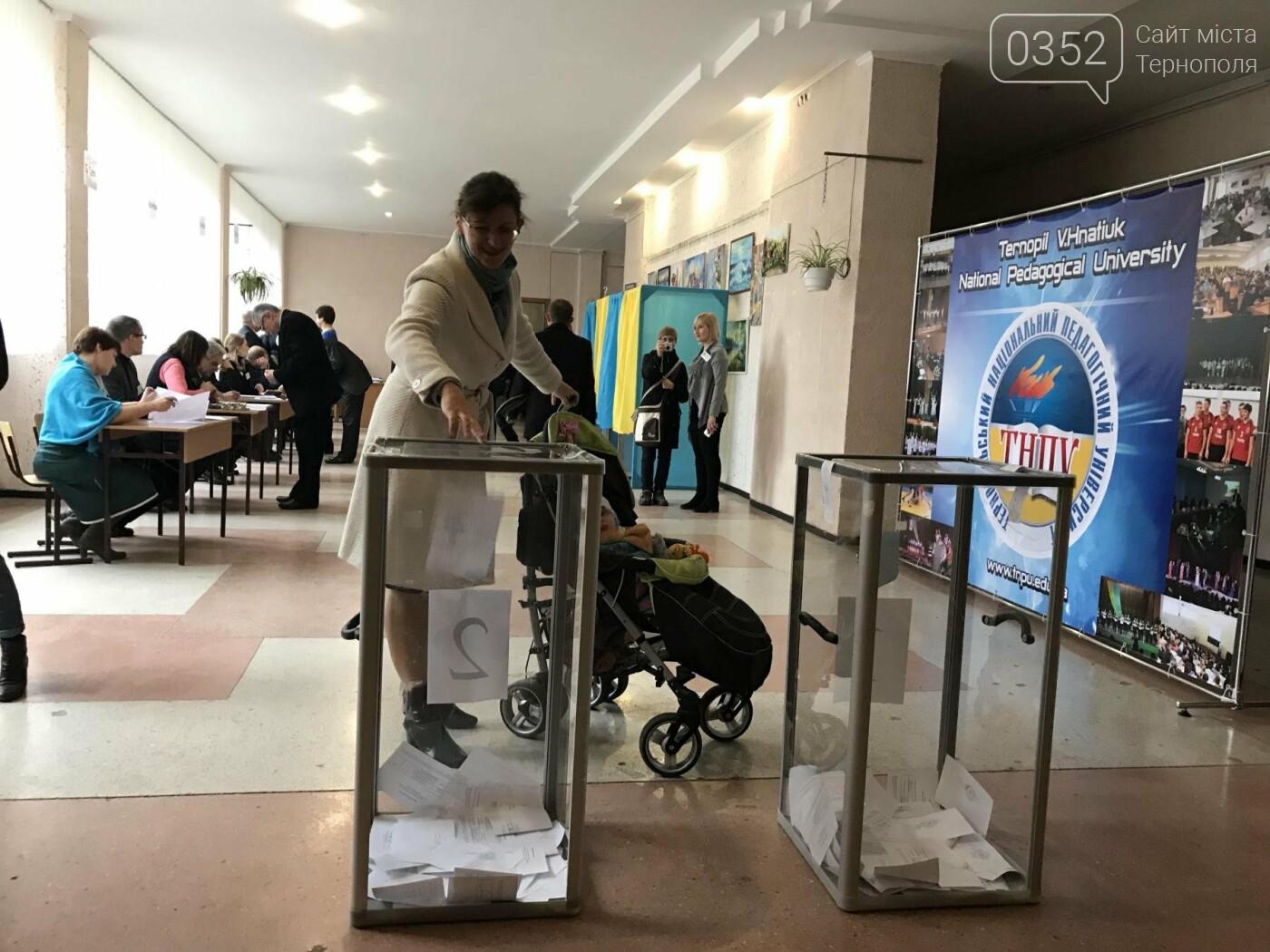 У Тернополі сьогодні відбуваються вибори (Фото), фото-3