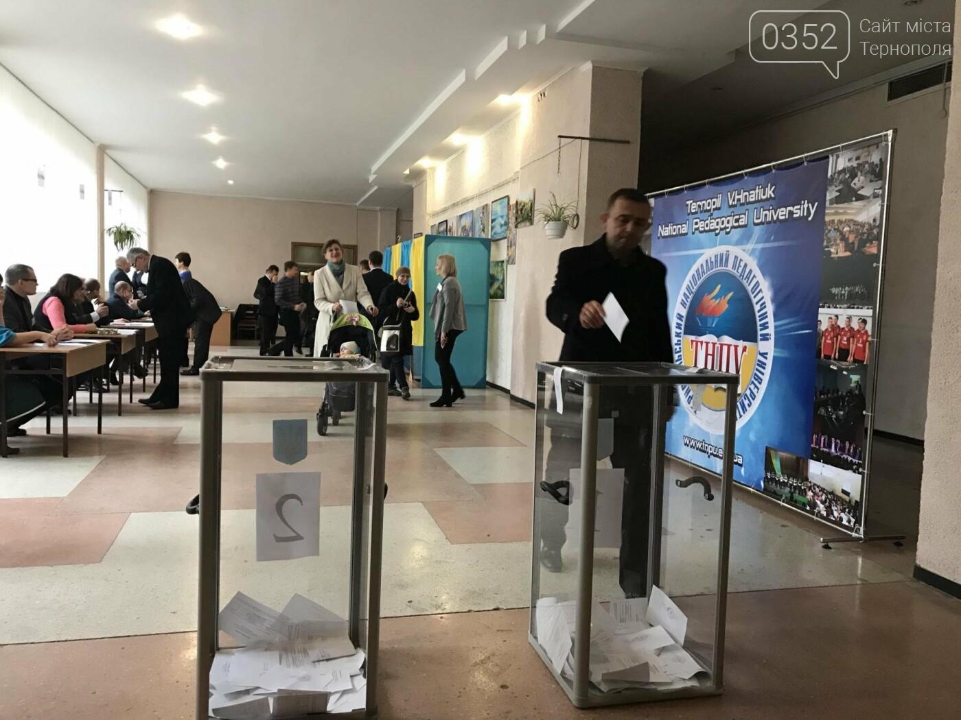 У Тернополі сьогодні відбуваються вибори (Фото), фото-4