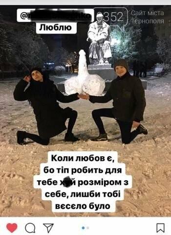У Тернополі розгорівся сканадал через скульптуру у вигляді статевого органу у центрі міста (фото), фото-1