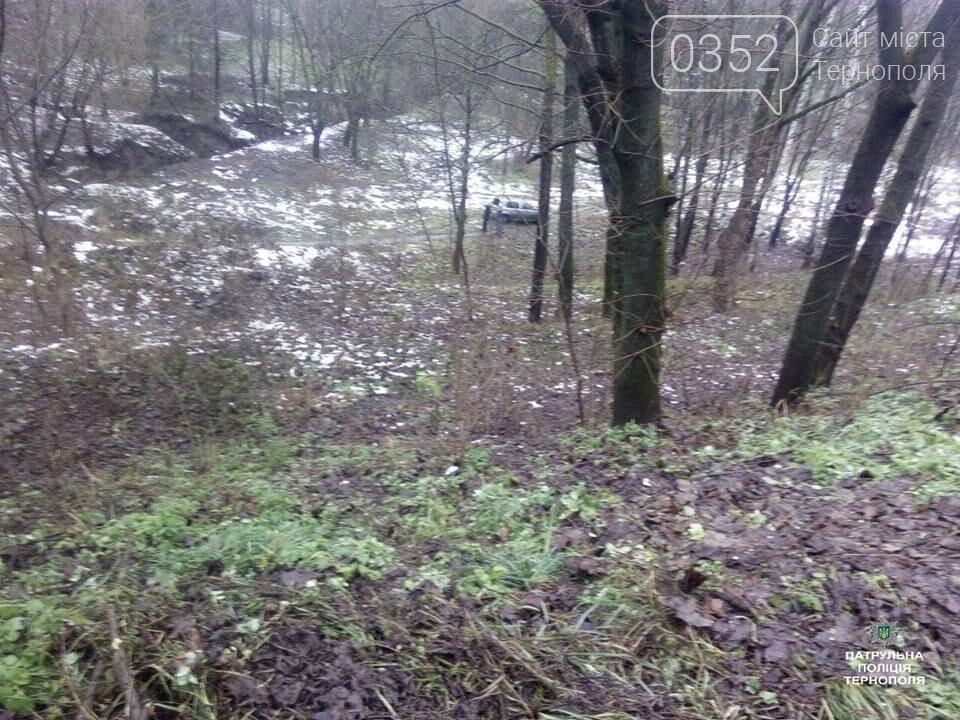 У Тернополі біля Березолю внаслідок аварії автомобіль злетів в урвище (ФОТО+ВІДЕО), фото-2