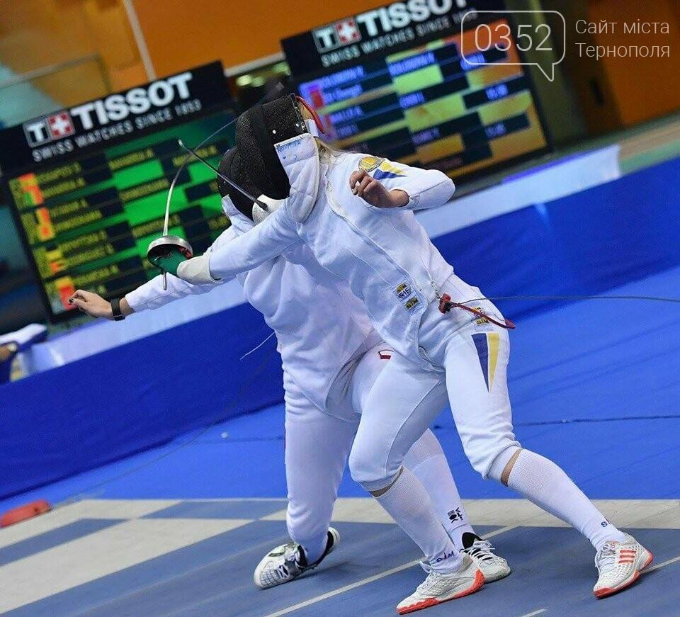 Тернополянка Олена Кривицька зайняла 6 місце у всесвітньому турнірі з фехтування на шпагах (ФОТО), фото-4
