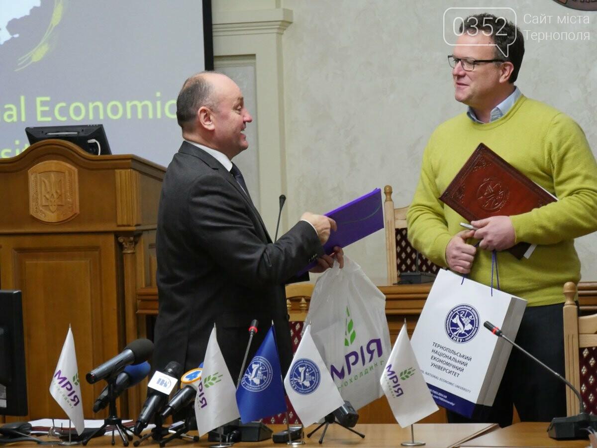 Агрохолдинг «МРІЯ» і Тернопільський економічний університет підписали меморандум про співпрацю, фото-23
