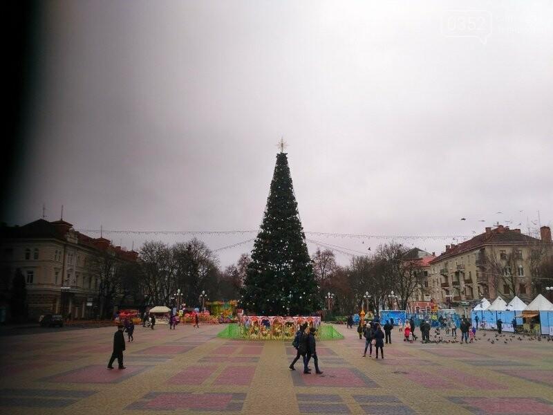 У Тернополі головну новорічну красуню міста прикрасили новими іграшками (фото), фото-3
