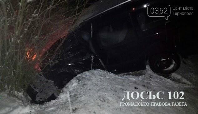 Внаслідок ДТП на Тернопільщині четверо людей потрапили до лікарні (фото), фото-1