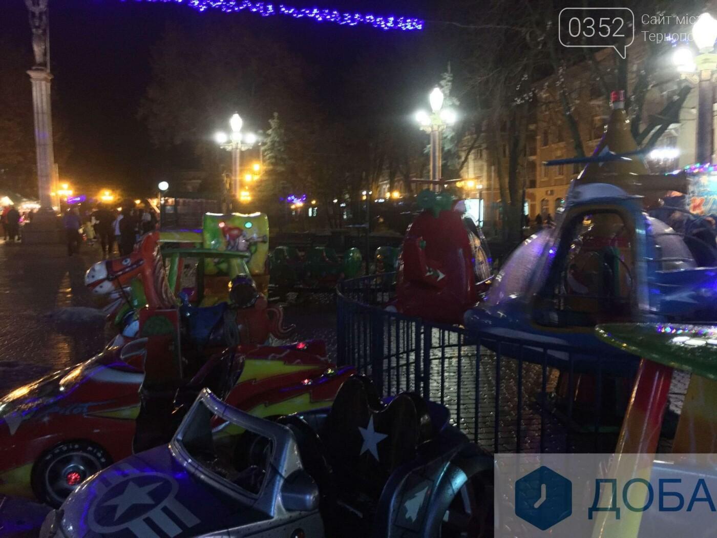 Скільки доведеться заплатити, аби покататись на атракціонах у центрі Тернополя? (фото), фото-1