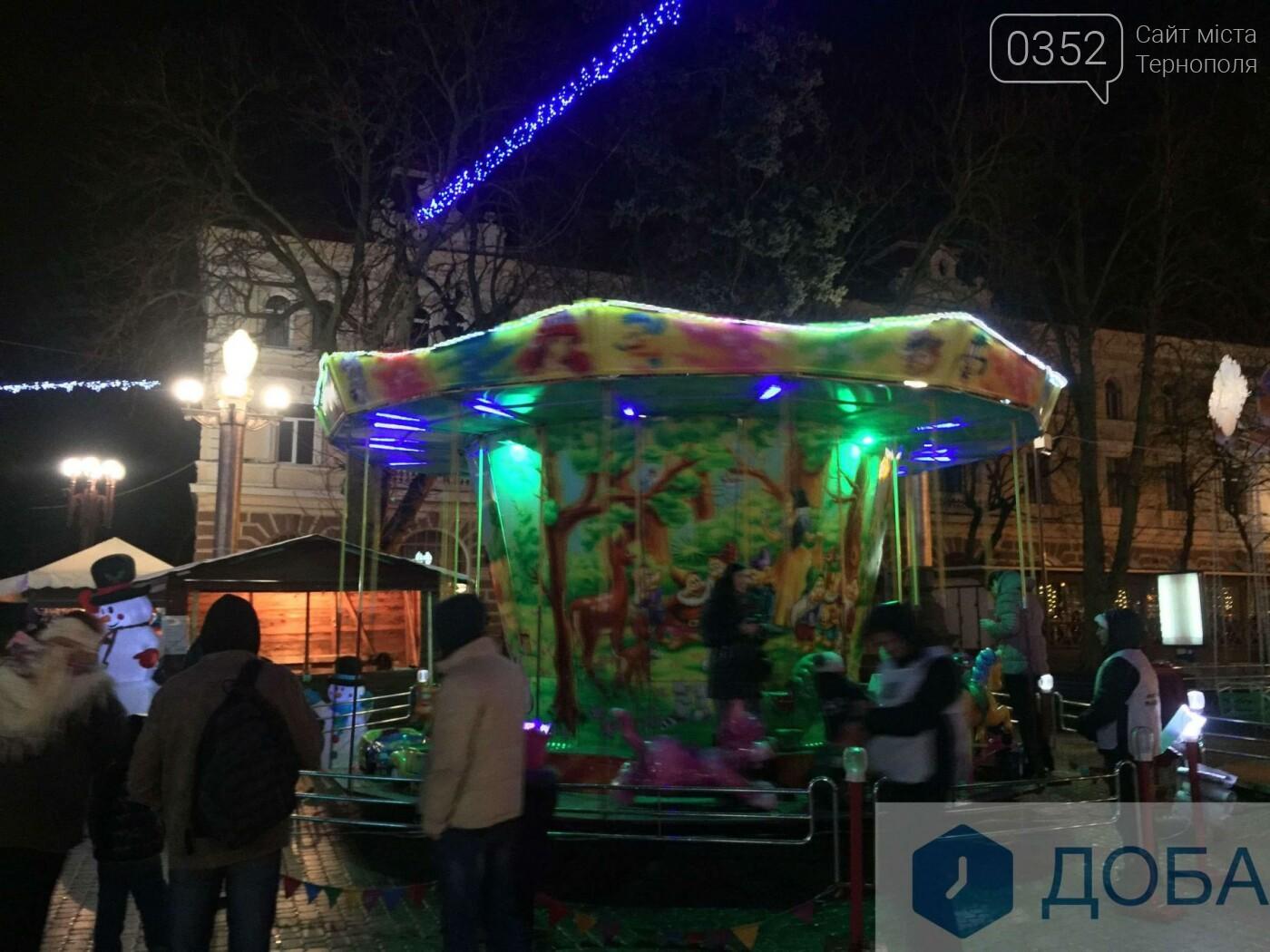 Скільки доведеться заплатити, аби покататись на атракціонах у центрі Тернополя? (фото), фото-2