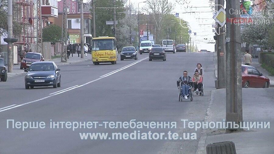 У Тернополі інваліди ризикують життям (фото, відео), фото-3