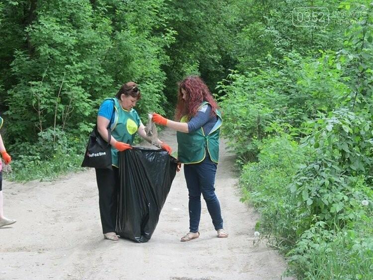 У Тернополі переселенці прибирають парки (фото), фото-1