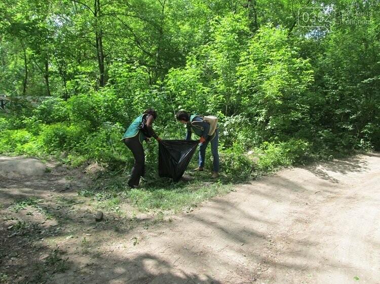 У Тернополі переселенці прибирають парки (фото), фото-2