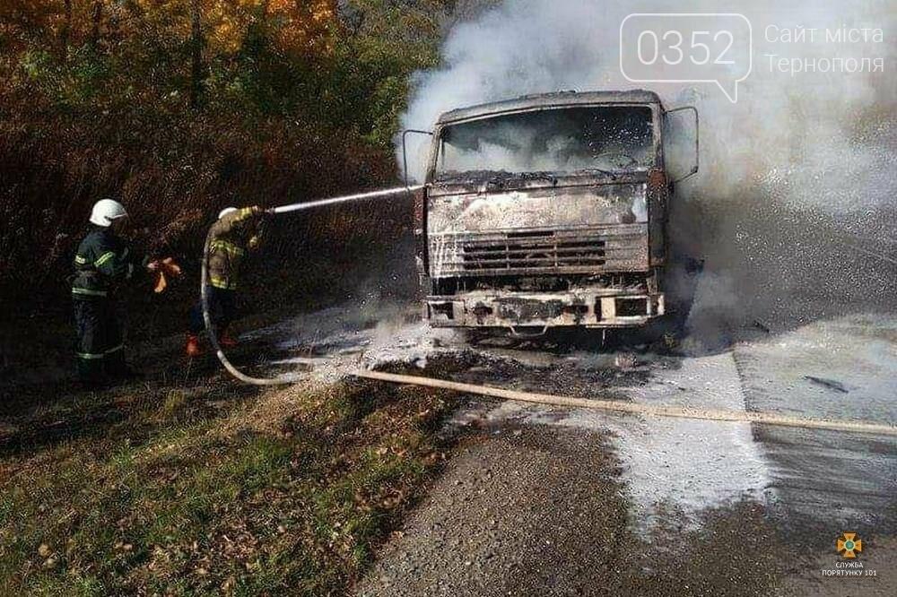На Тернопільщині вщент згоріла вантажівка (фото), фото-3