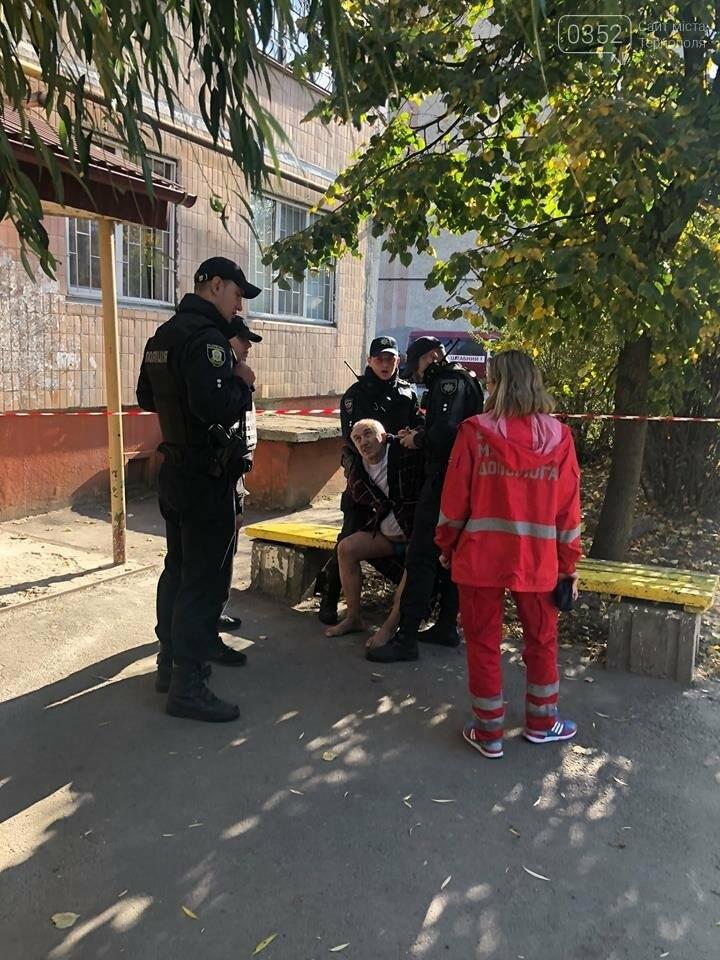 Підірвати будинок на Протасевича психічно хворому не вдалося, босим його повезли до психіатрів, фото-1