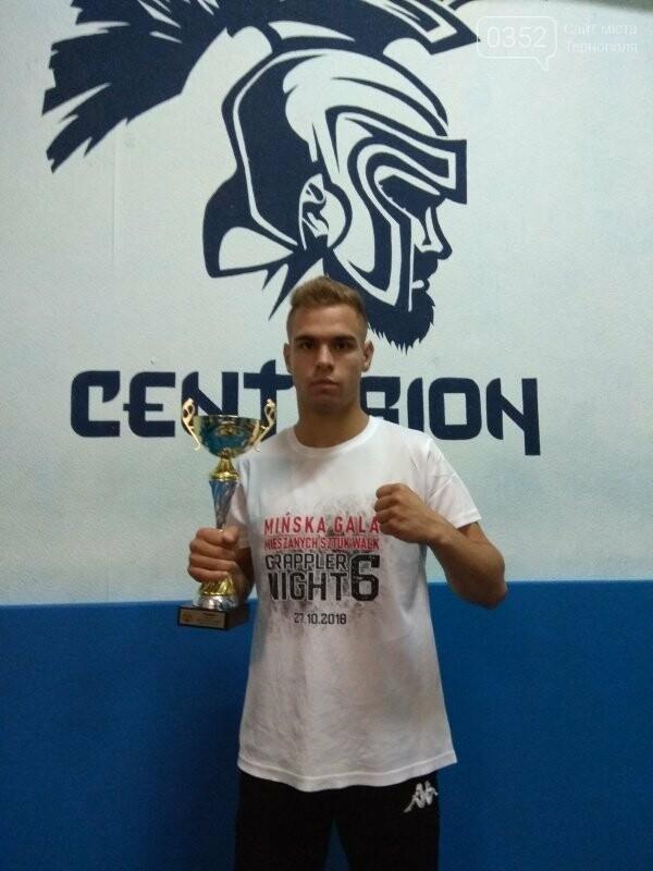 Тернопільський спортсмен став переможцем у професійних боях у Польщі, фото-1
