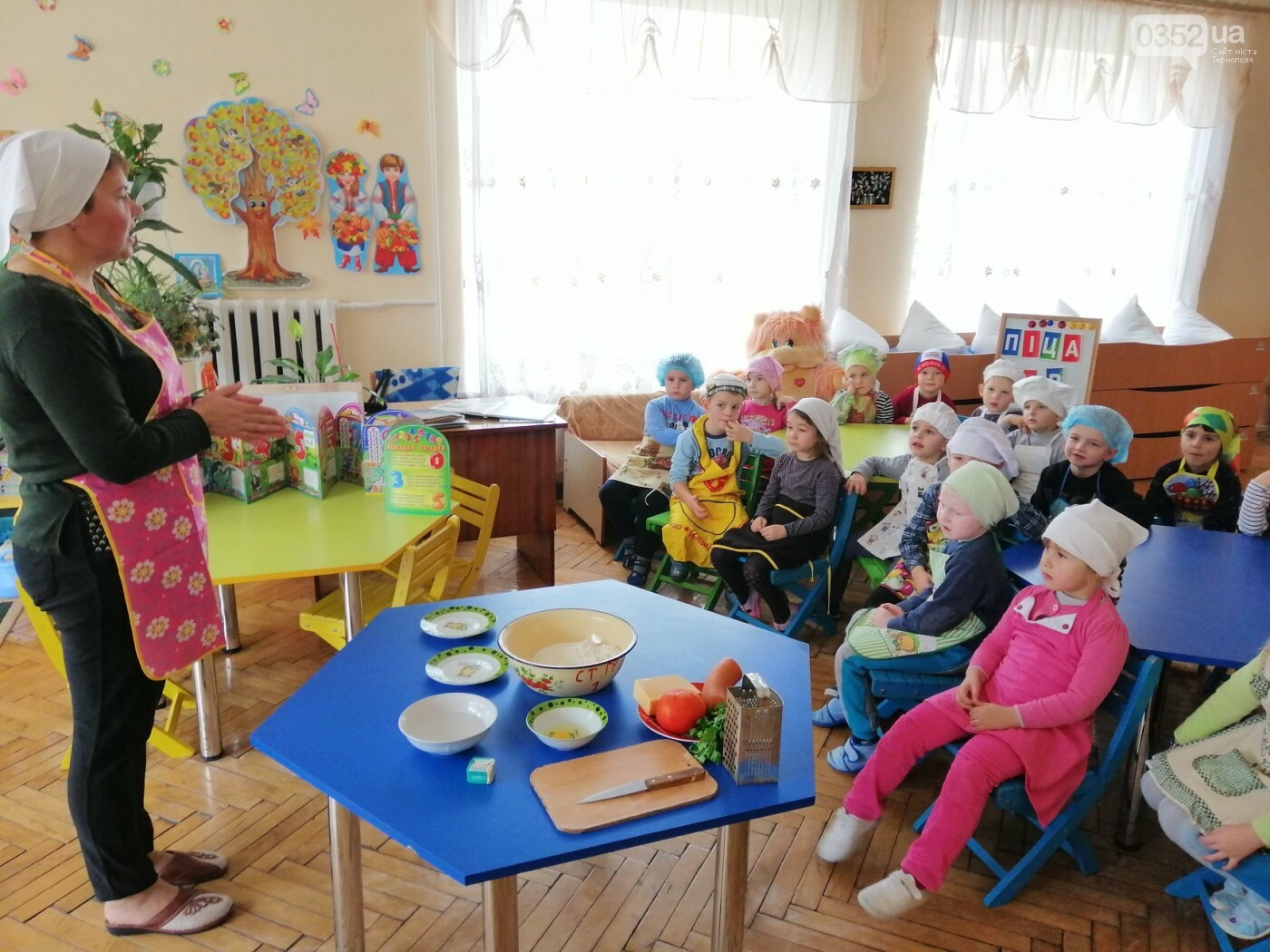 У дитсадочку на Тернопільщині дошкільнят креативно навчають  самостійності (ФОТО), фото-6