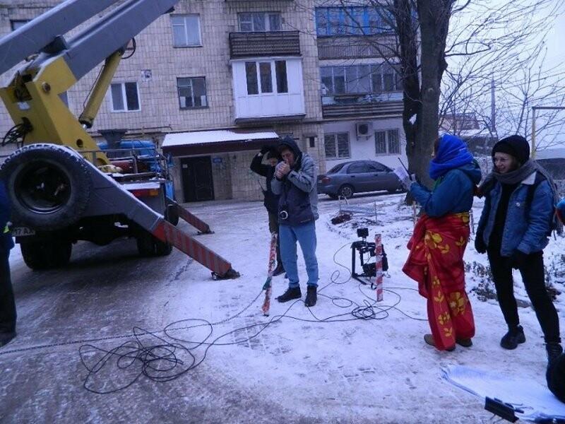 У Тернополі ЖЕКівці знялися у кіно (фото), фото-4