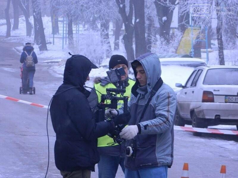 У Тернополі ЖЕКівці знялися у кіно (фото), фото-1