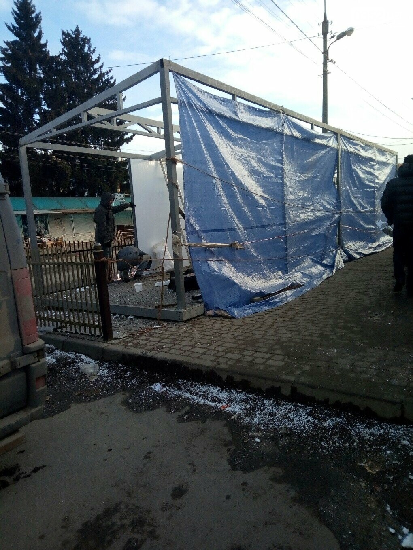 Вулицю Шептицького у Тернополі повністю забудували торговими будками (ФОТОФАКТ), фото-3