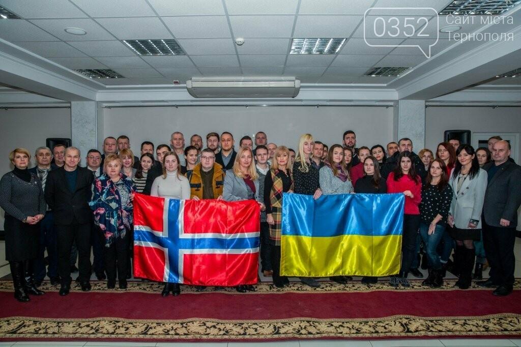 Відбулося урочисте відкриття чергового навчального семестру у рамках проекту «Україна – Норвегія», фото-15