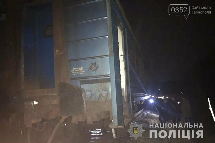 На Тернопільщині зійшов з рейок потяг з пасажирами (Фото), фото-1
