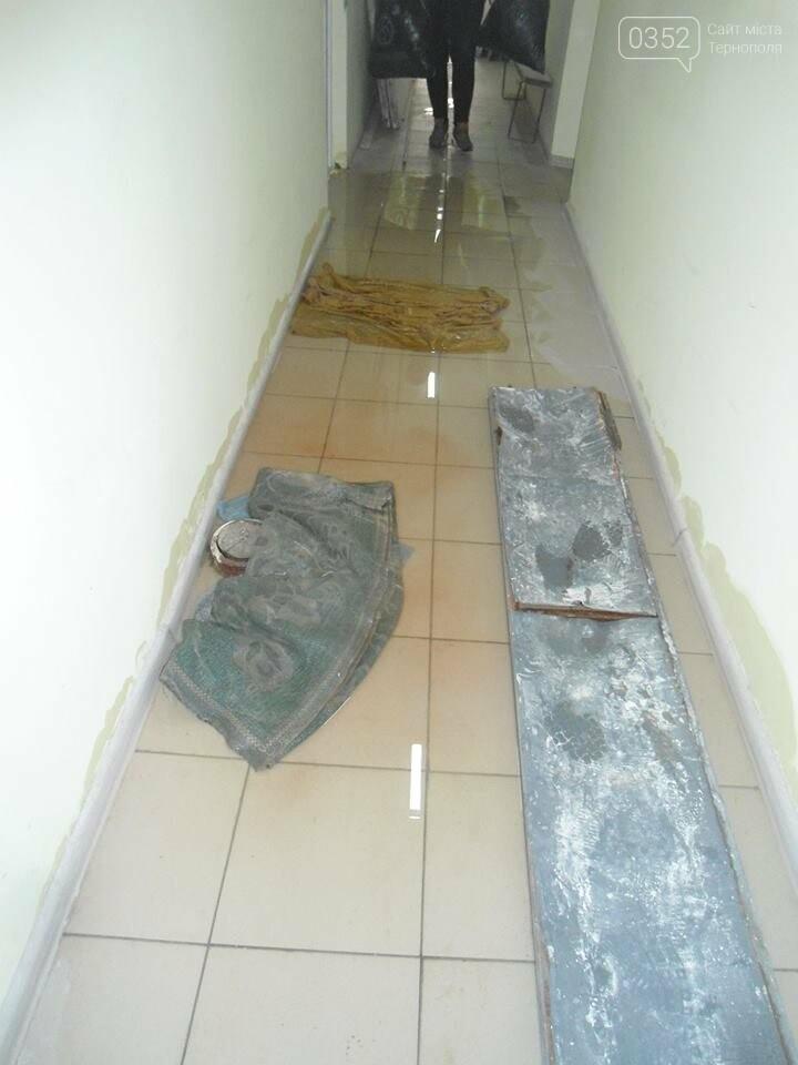 У Тернополі у багатоквартирному будинку постійно прориває каналізацію, затоплюючи підвальні приміщення благодійних організацій (ФОТО, ВІДЕО), фото-7