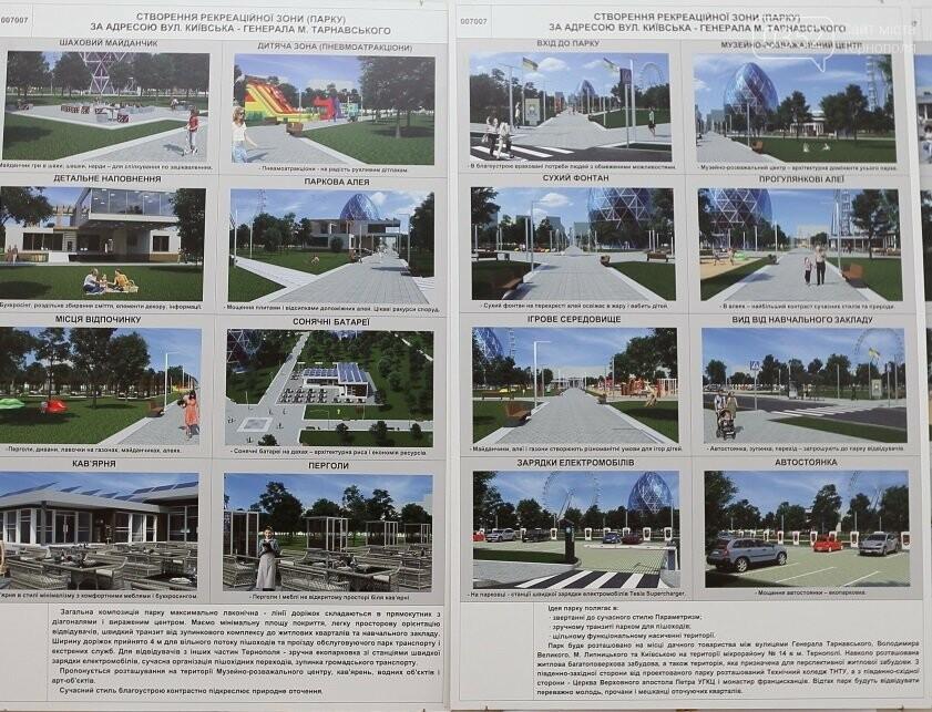 До 16 липня тернополяни можуть обрати, як буде виглядати новий міський парк, фото-1