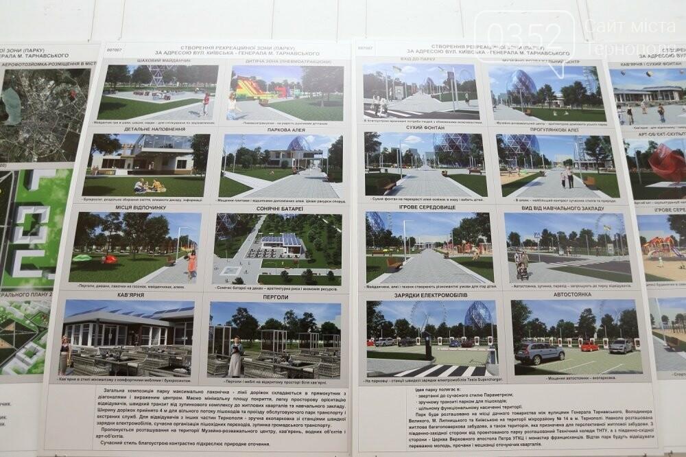 До 16 липня тернополяни можуть обрати, як буде виглядати новий міський парк, фото-3
