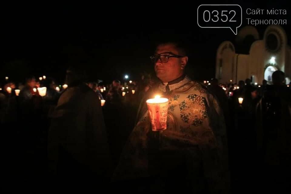 У мережі показали неймовірне відео походу зі свічками на Всеукраїнській прощі на Тернопільщині (ВІДЕО), фото-2
