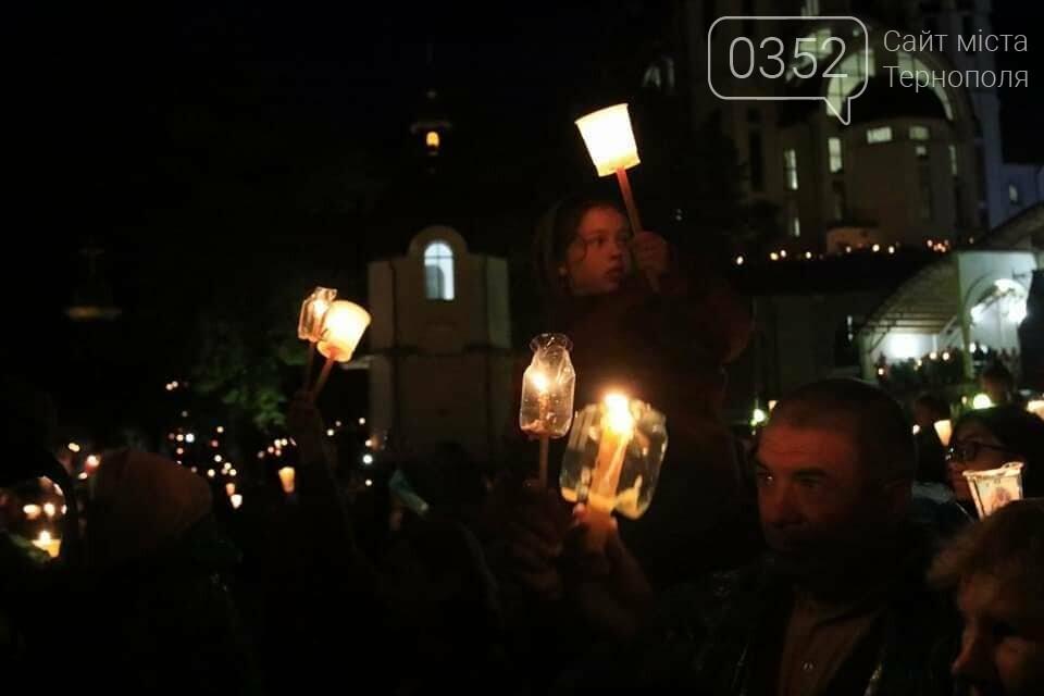 У мережі показали неймовірне відео походу зі свічками на Всеукраїнській прощі на Тернопільщині (ВІДЕО), фото-4