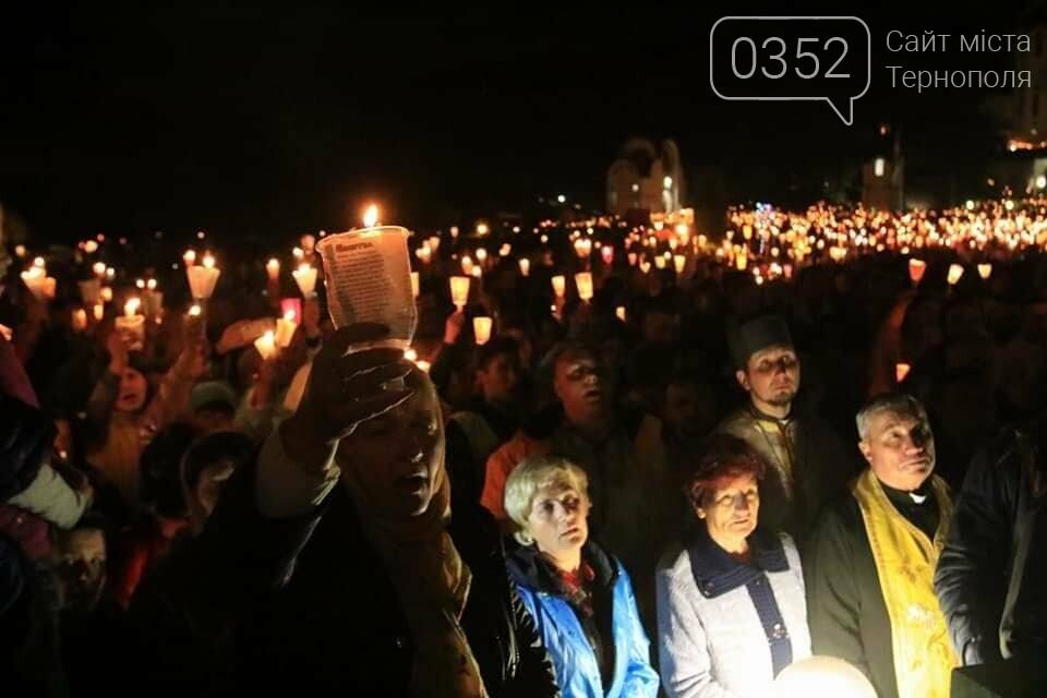 У мережі показали неймовірне відео походу зі свічками на Всеукраїнській прощі на Тернопільщині (ВІДЕО), фото-5