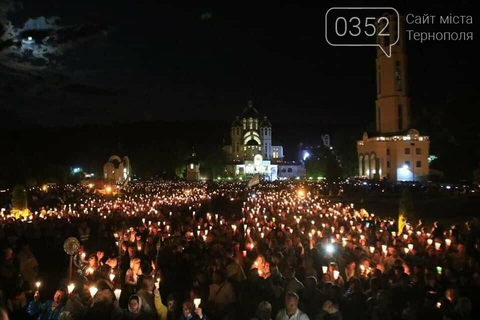У мережі показали неймовірне відео походу зі свічками на Всеукраїнській прощі на Тернопільщині (ВІДЕО), фото-1