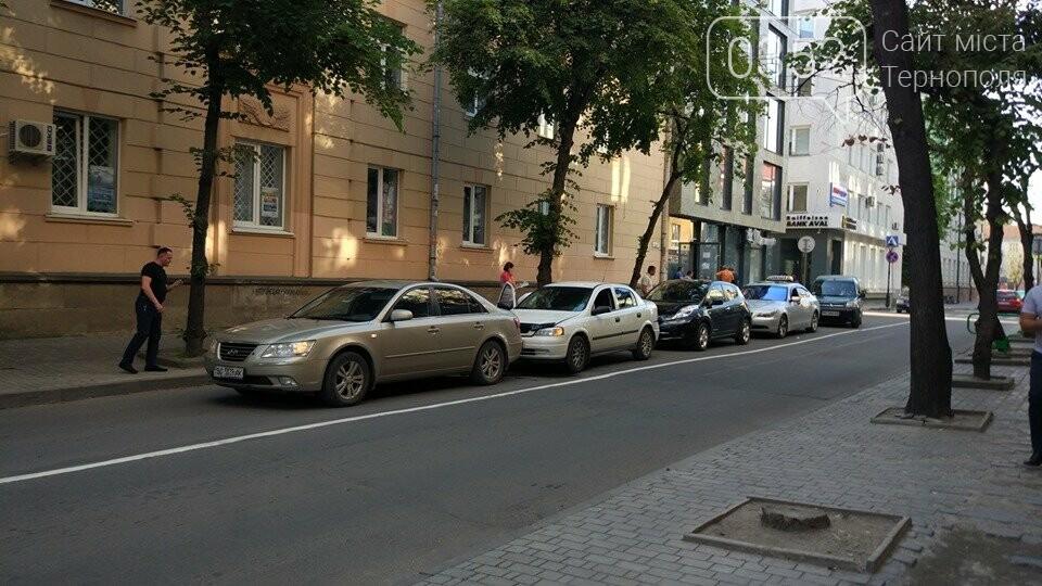 У Тернополі на вулиці Йосипа Сліпого сталася потрійна ДТП (ФОТО), фото-1
