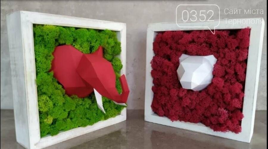 """""""Ми підловили цю ідею у Європі"""": тернополяни виготовляють оригінальні декорації з моху (ФОТО), фото-1"""