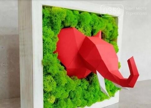 """""""Ми підловили цю ідею у Європі"""": тернополяни виготовляють оригінальні декорації з моху (ФОТО), фото-2"""