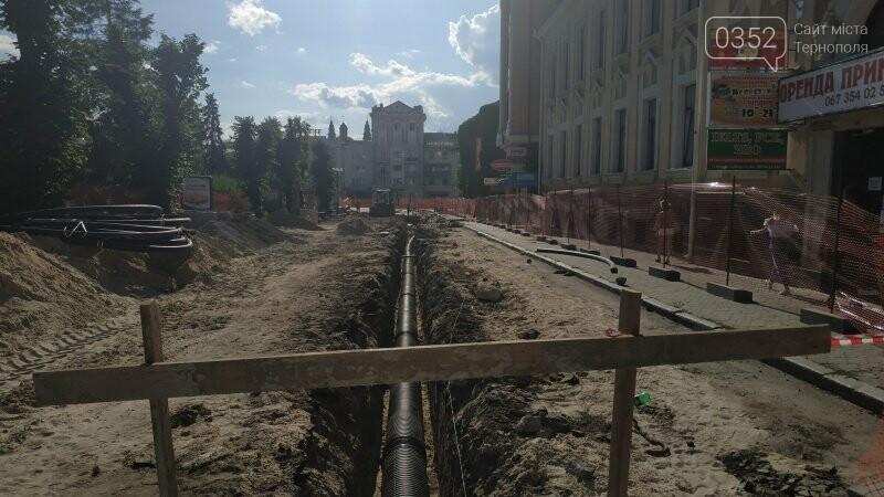 Як просувається ремонт вулиці Чорновола у Тернополі? (фото), фото-1
