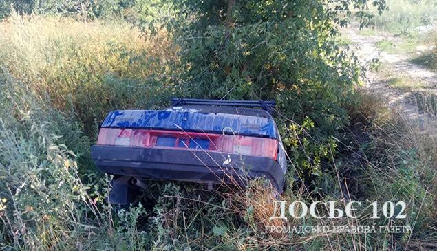 На Тернопільщині п'яний водій не впорався з керуванням і опинився в кюветі (фото), фото-2