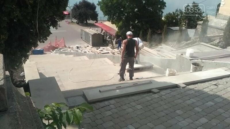 """Як просувається ремонт сходів біля фонтану """"Сходи Гронського""""? (фото), фото-4"""