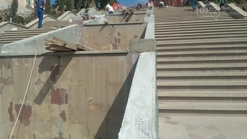 """Як просувається ремонт сходів біля фонтану """"Сходи Гронського""""? (фото), фото-1"""