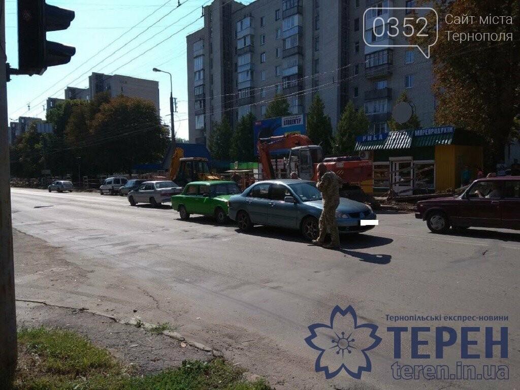 Тернополян попереджають про ДТП на вул.Л.Українки (фото), фото-1