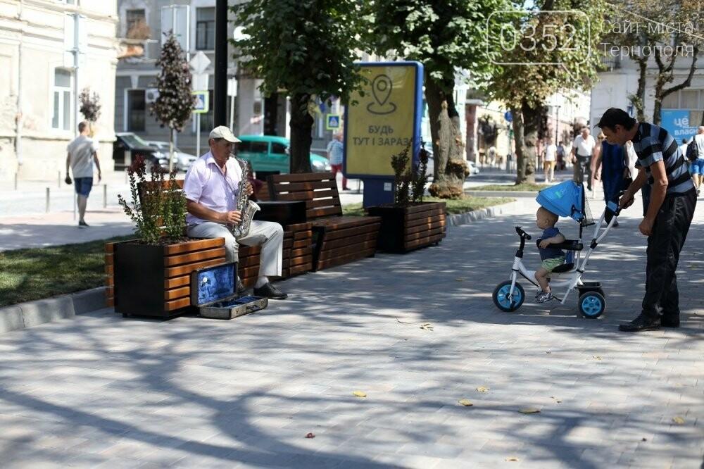 Як виглядає оновлений сквер Чорновола у Тернополі (фото), фото-4