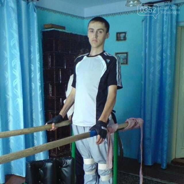Тернополян просять допомогти молодому хлопцеві знову стати на ноги, фото-1
