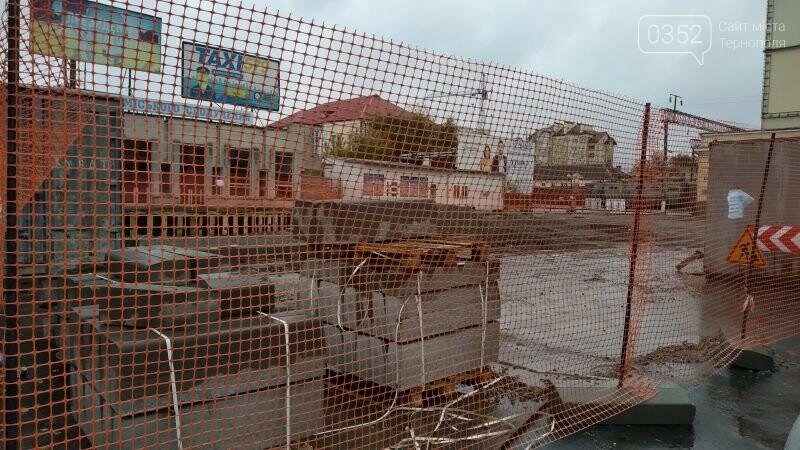 Як просувається капітальний ремонт Привокзальної площі у Тернополі? (ФОТО), фото-5