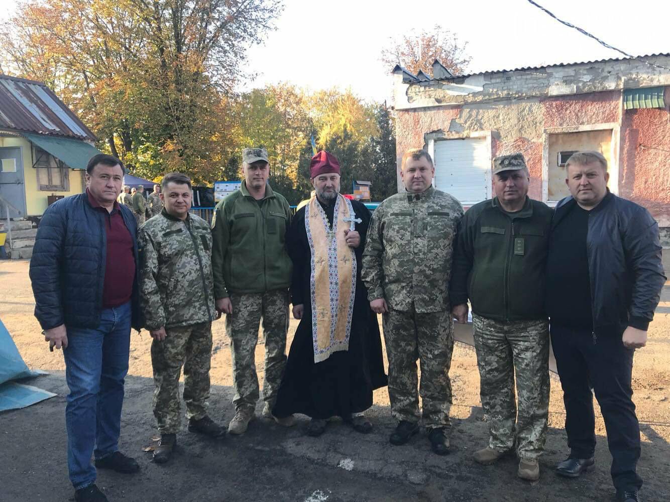 Делегація з Тернопільщини відвідала військовослужбовців 44 окремої артилерійської бригади та батальйону спецпризначення «Тернопіль» у Попасній, фото-1