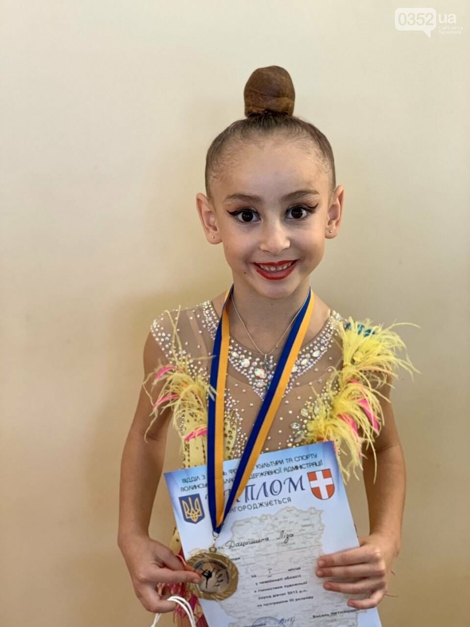 У Тернополі відкрили сучасну школу художньої гімнастики «Принцеса», фото-4