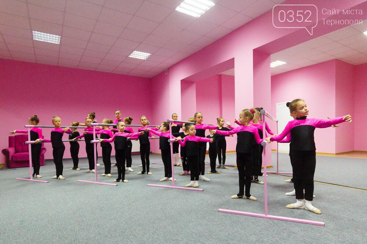 У Тернополі відкрили сучасну школу художньої гімнастики «Принцеса», фото-9