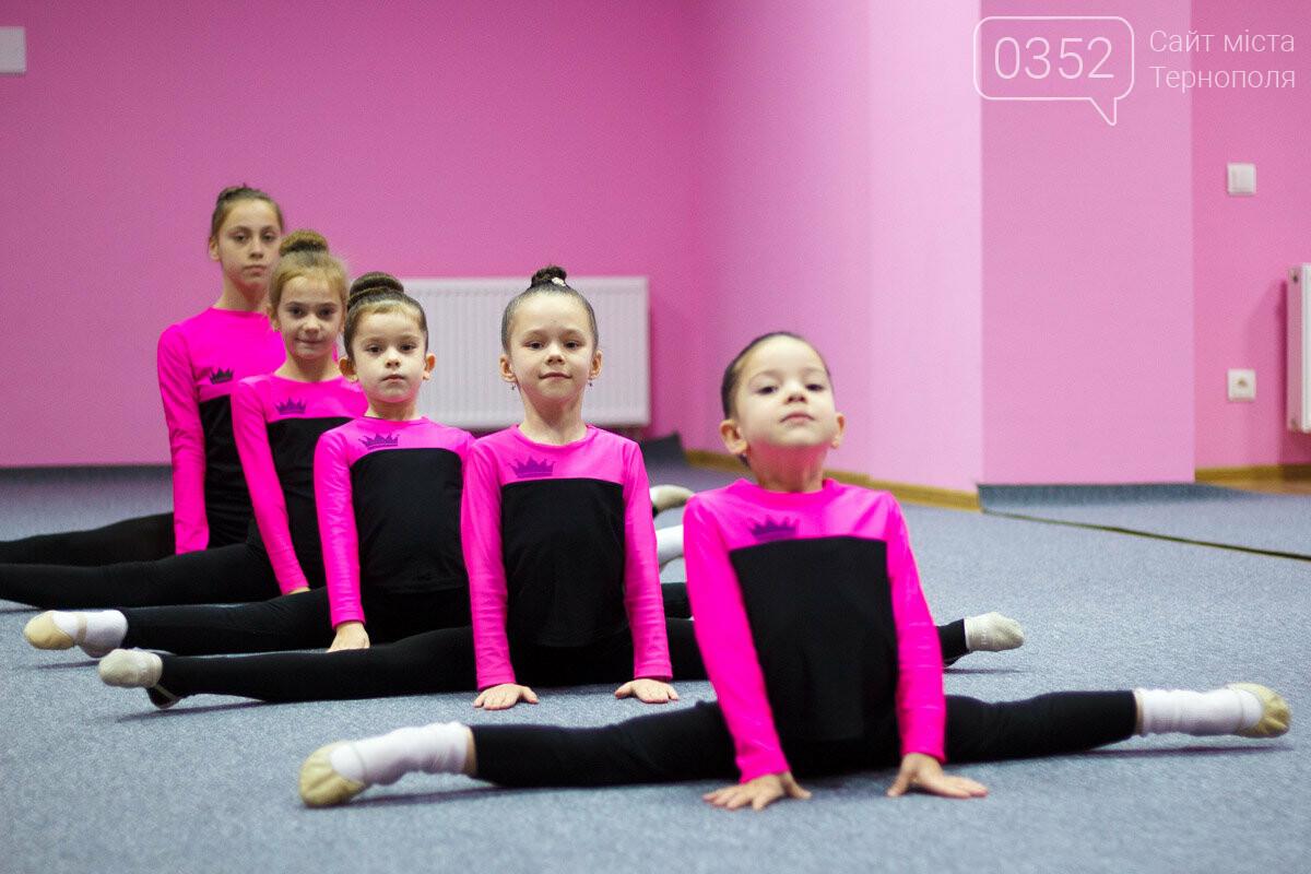 У Тернополі відкрили сучасну школу художньої гімнастики «Принцеса», фото-10