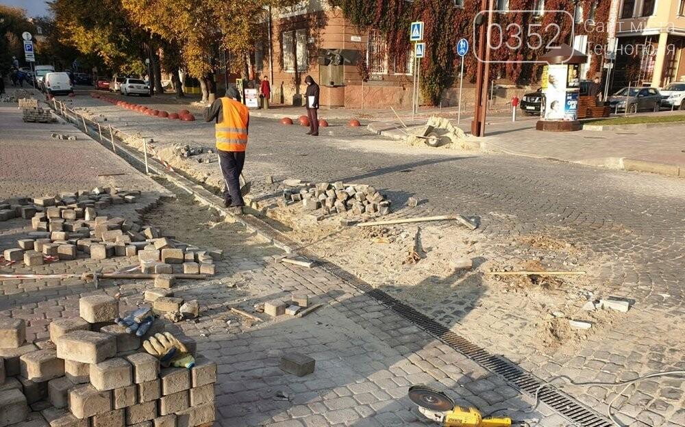 У Тернополі на декількох вулицях оновлюють систему дощової каналізації, фото-1