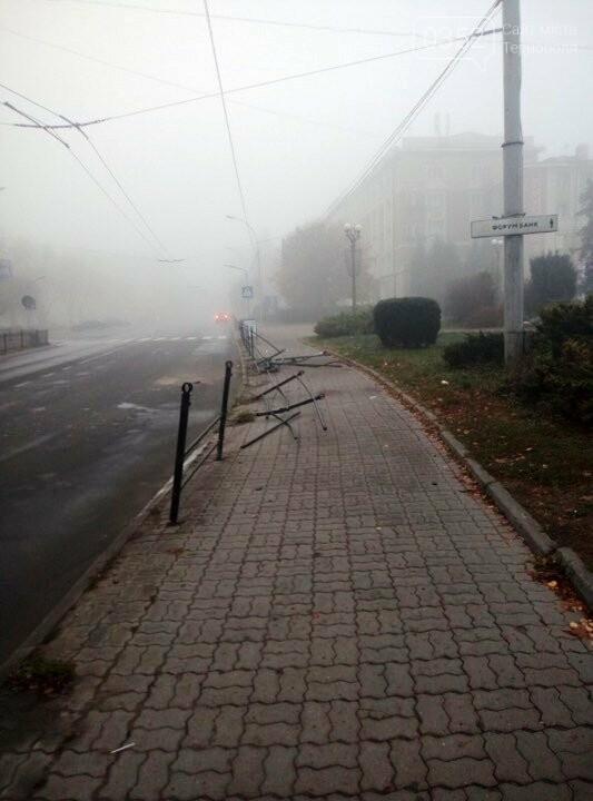 Хто зніс паркан на Замковій у Тернополі? (ФОТО), фото-1