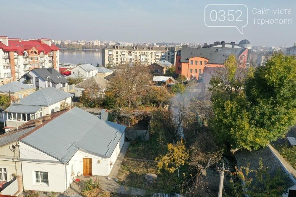 У Тернополі факти спалювання сухого листя відтепер фіксують за допомогою квадрокоптера, фото-1