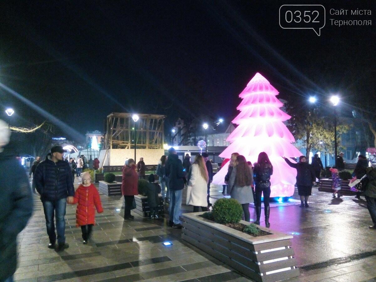 Вночі у Тернополі з центрального майдану зникла новорічна ялинка (ФОТО), фото-3